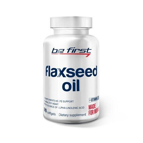 Be First Flaxseed Oil (90капс)