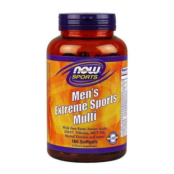 Now Men`s Extreme Sport Multi (180капс)
