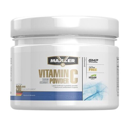 Maxler Vitamin C Sodium Ascorbate Powder (200гр)