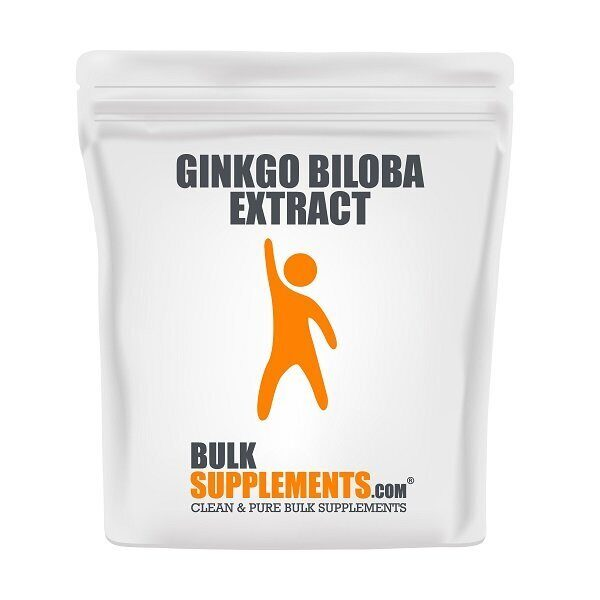 Bulk Supplements Ginkgo Biloba Powder (500гр)