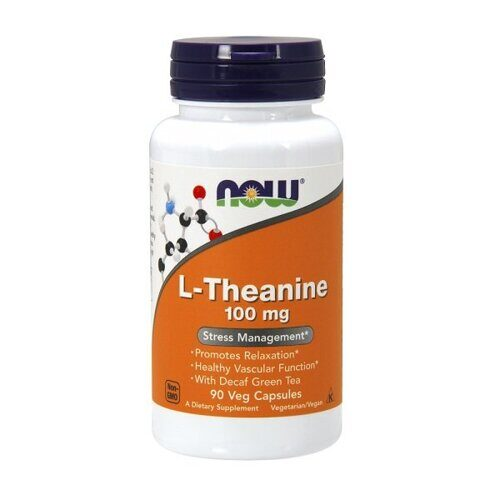 Now L-Theanine 100mg (90капс)