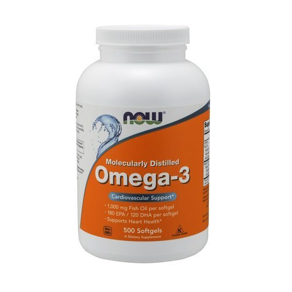 Now Omega-3 (500капс)