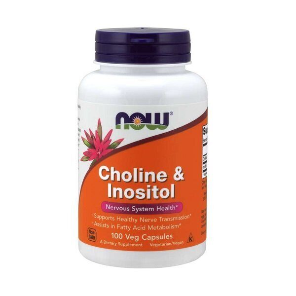 Now Choline & Inositol (100капс)