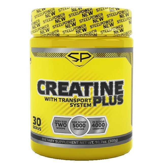 Steel Power Creatine Plus (300гр)