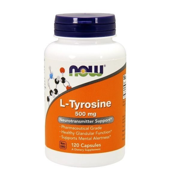 Now L-Tyrosine 500 mg (120капс)