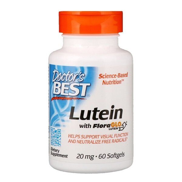 Dr.Best Lutein 20mg FloraGLO (60капс)