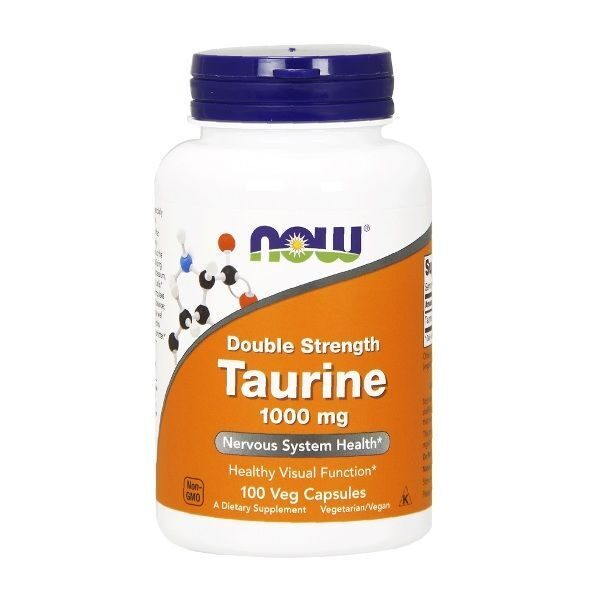 Now Taurine 1000mg (100капс)