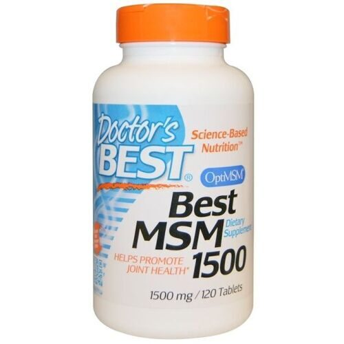 Dr.Best MSM 1500mg (120таб)