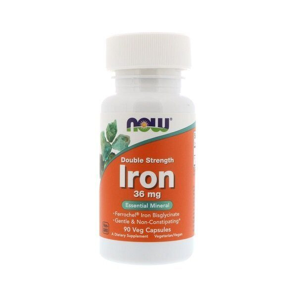 Now Iron Double Strength 36mg (90капс)