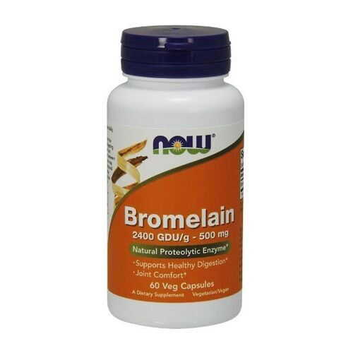 Now Bromelain 500mg (60капс)