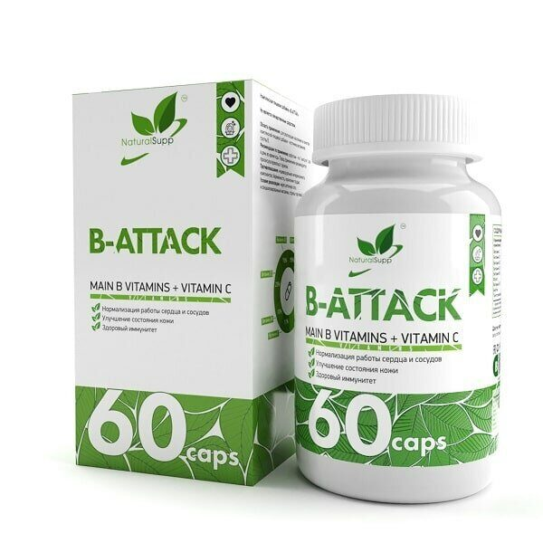 NaturalSupp B-Attack (60капс)