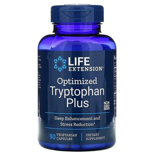 Life Extension Optimized Tryptophan Plus (90капс)
