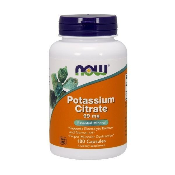 Now Potassium Citrate 99mg (180капс)