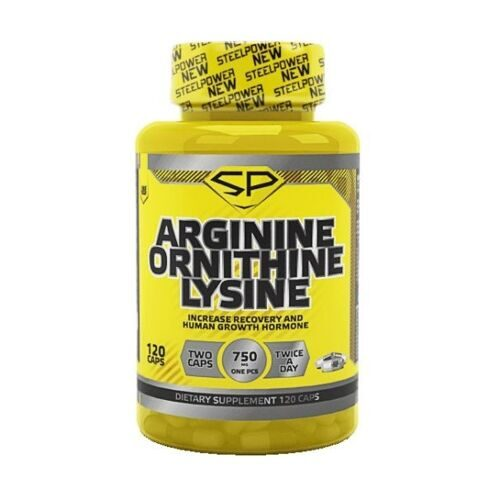 Steel Power Arginine Ornithine Lysine (120капс)