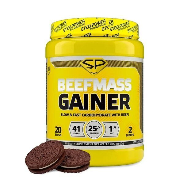 Steel Power BeefMass Gainer (1500гр)