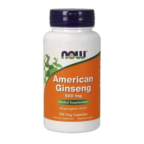 Now American Ginseng 500mg (100капс)