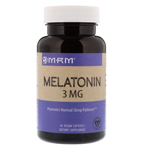 MRM Melatonin 3mg (60капс)