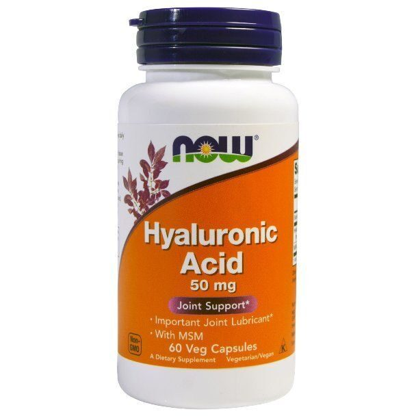 Now Hyaluronic Acid (60капс)
